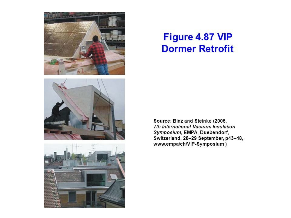 Figure 4.87 VIP Dormer Retrofit