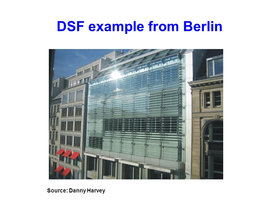 DSF example from Berlin