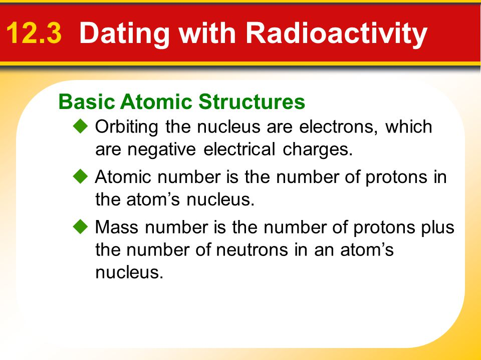 12.3 Dating with Radioactivity