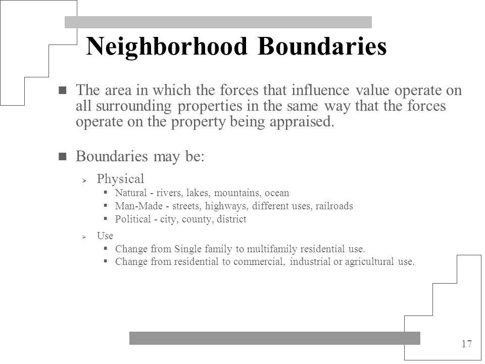 Neighborhood Boundaries