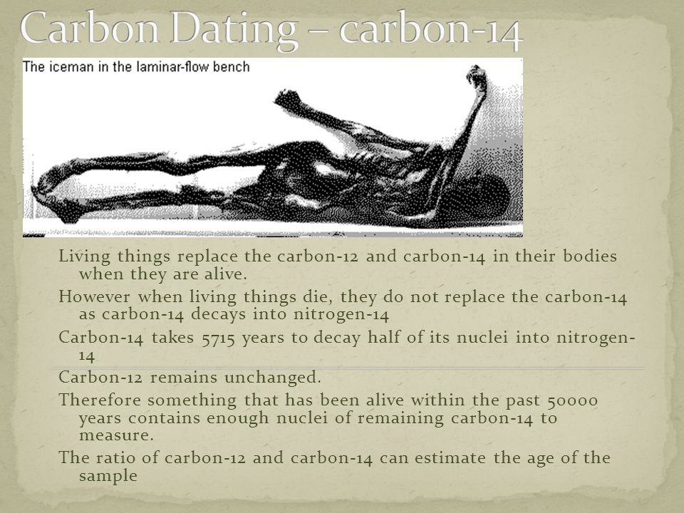 Carbon Dating – carbon-14