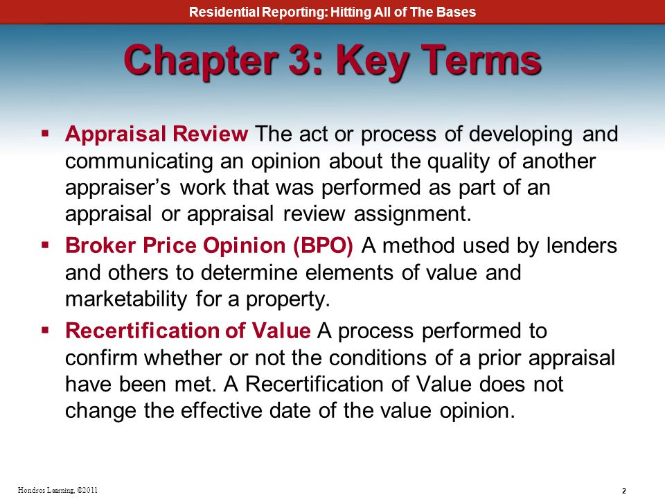 Chapter 3: Key Terms
