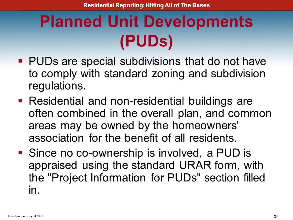 Planned Unit Developments (PUDs)