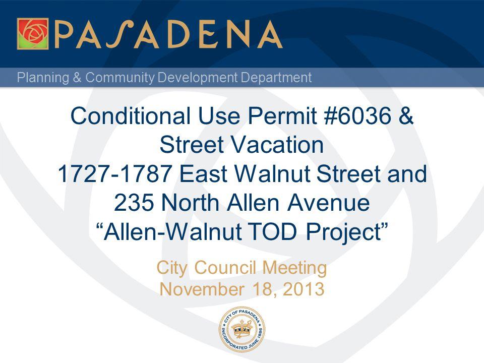 City Council Meeting November 18, 2013