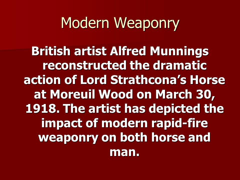 Modern Weaponry