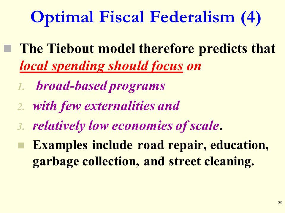Optimal Fiscal Federalism (4)