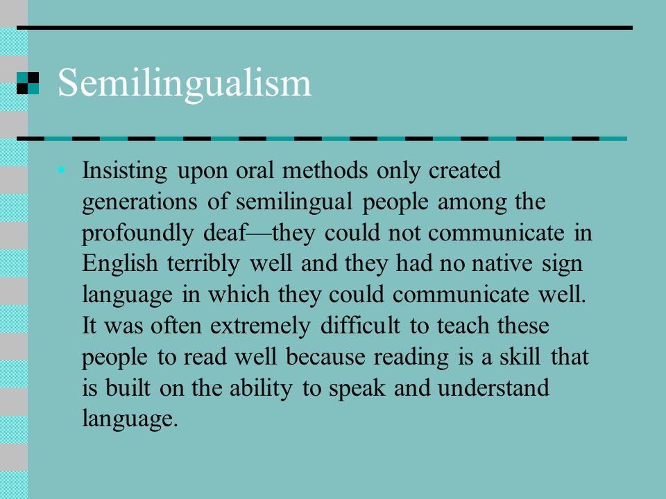 Semilingualism