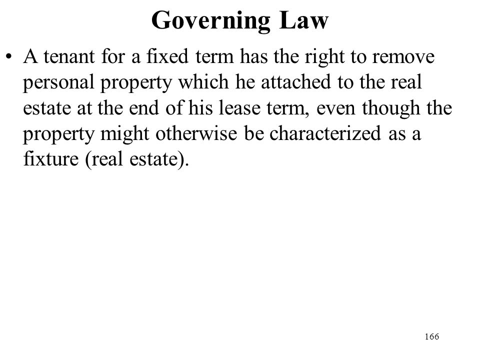 Governing Law