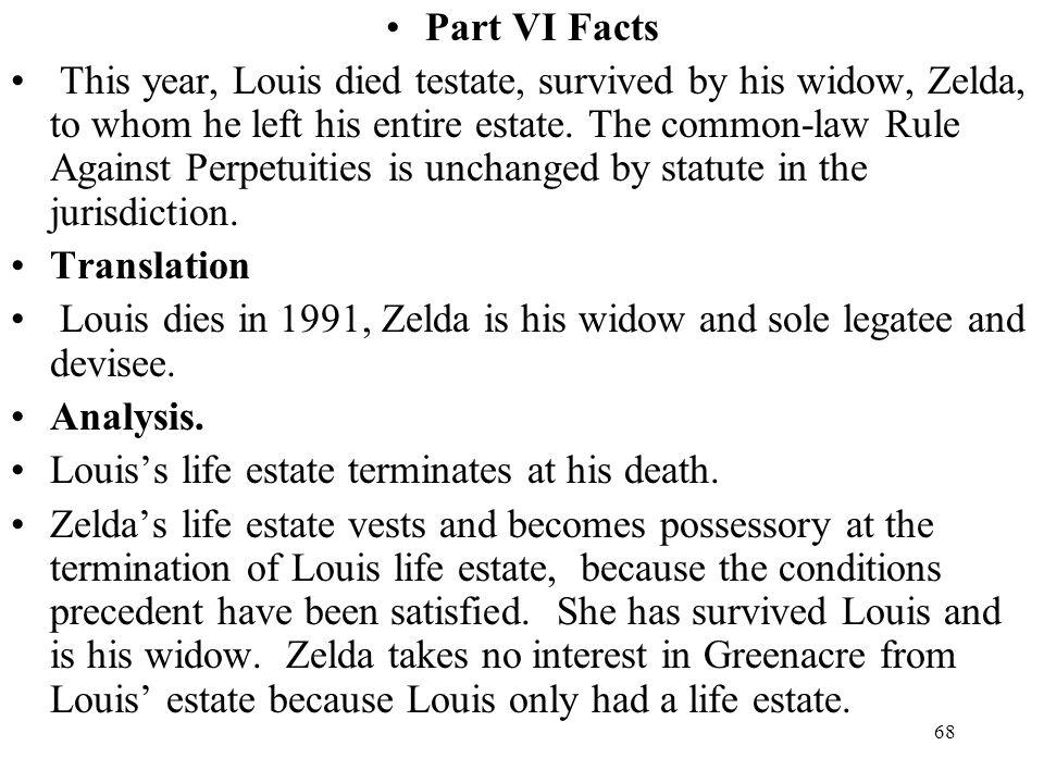 Part VI Facts