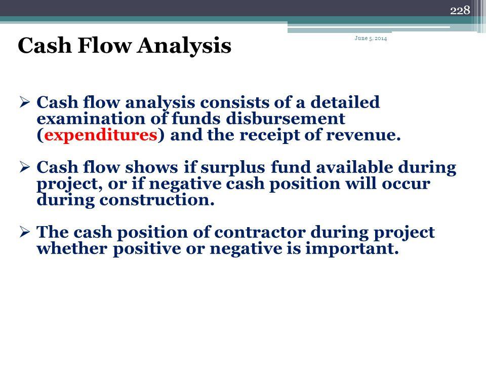 Cash Flow Analysis April 1, 2017.