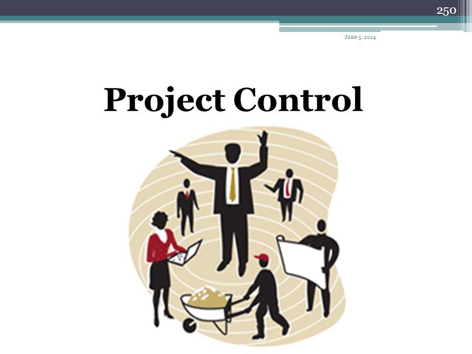 April 1, 2017 Project Control