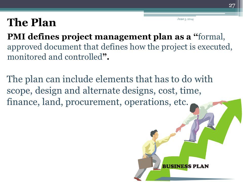 The Plan April 1, 2017.
