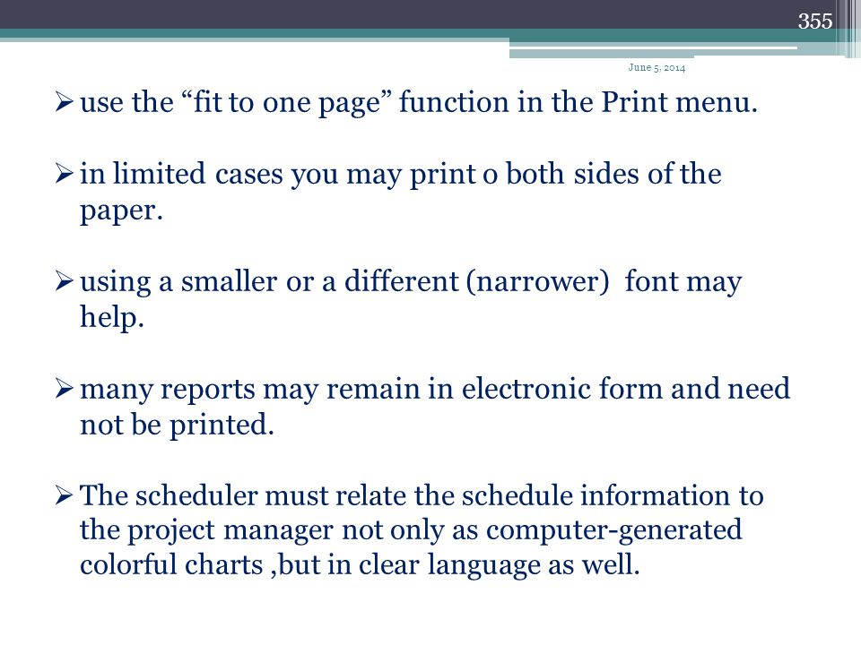 use the fit to one page function in the Print menu.
