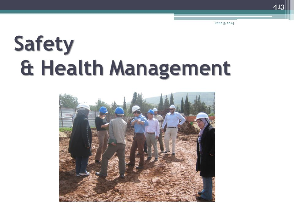 Safety & Health Management