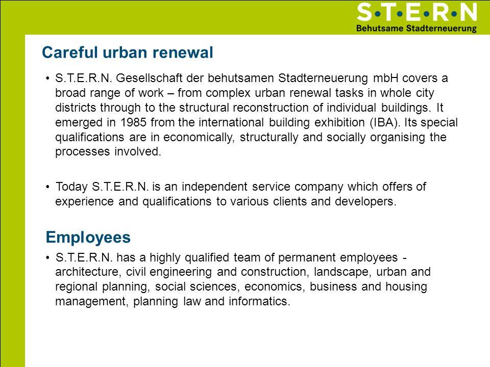 Careful urban renewal Employees