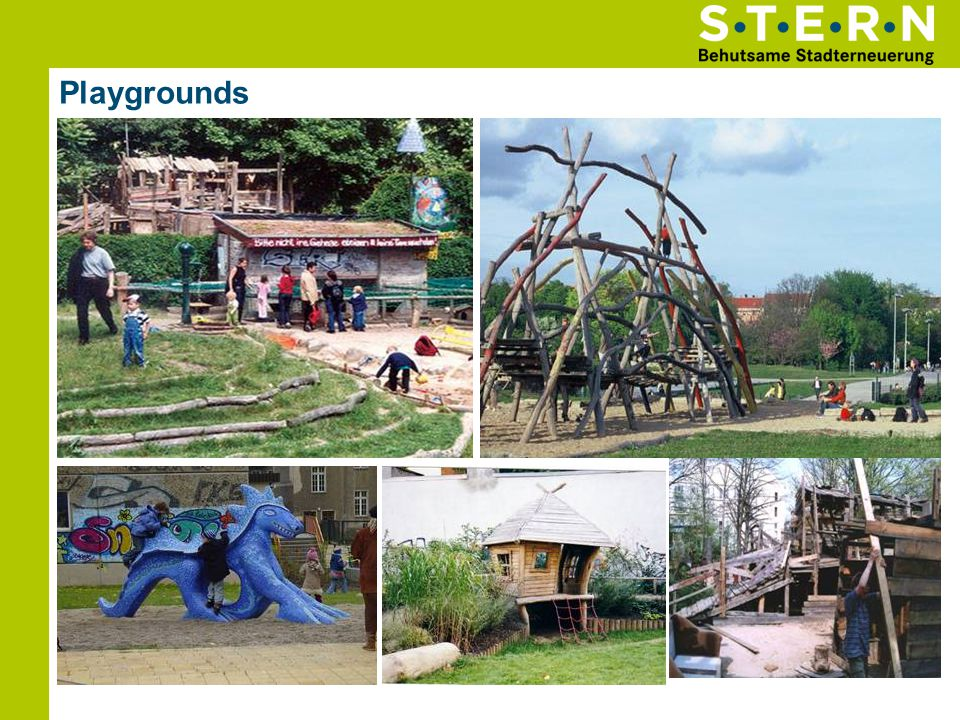 Playgrounds Wasserspielplatz Spielplatz Mauerpark