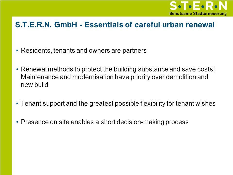 S.T.E.R.N. GmbH - Essentials of careful urban renewal