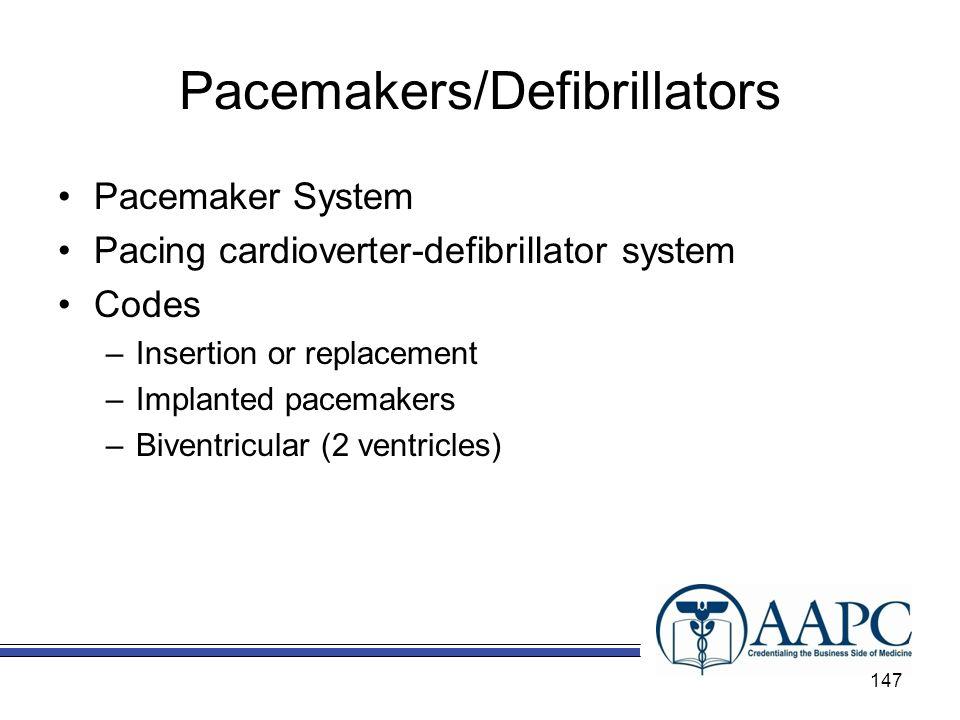 Pacemakers/Defibrillators