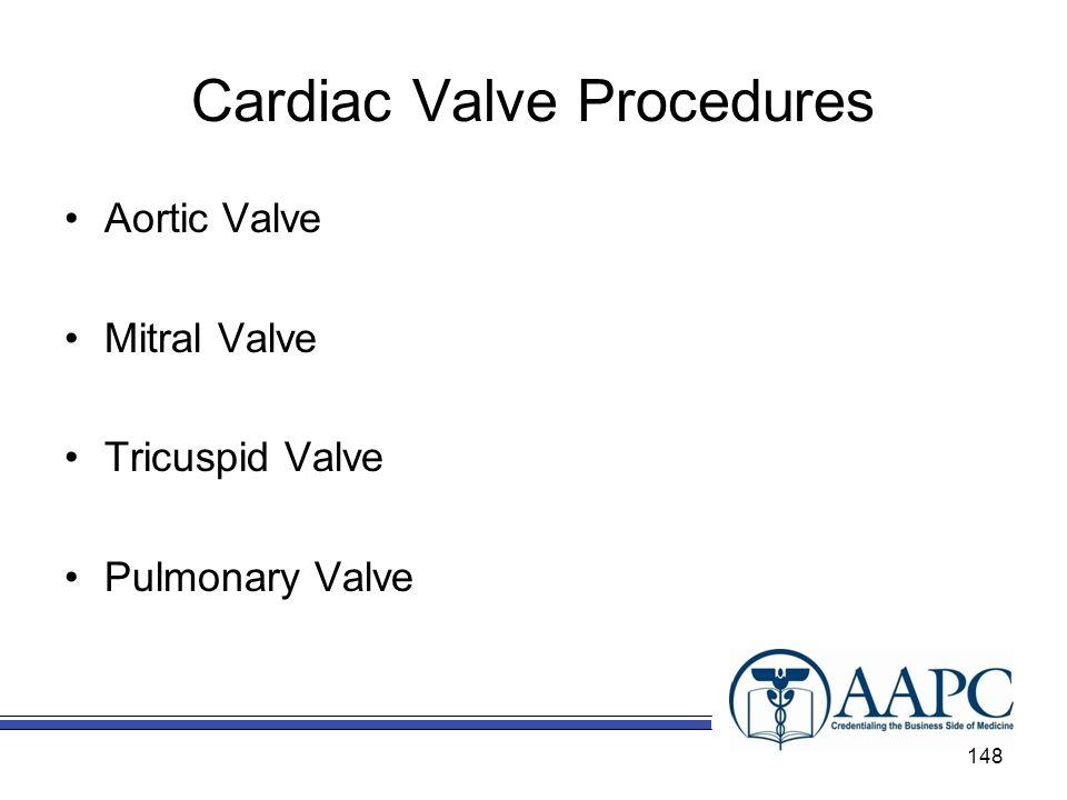 Cardiac Valve Procedures