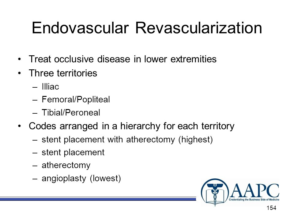 Endovascular Revascularization