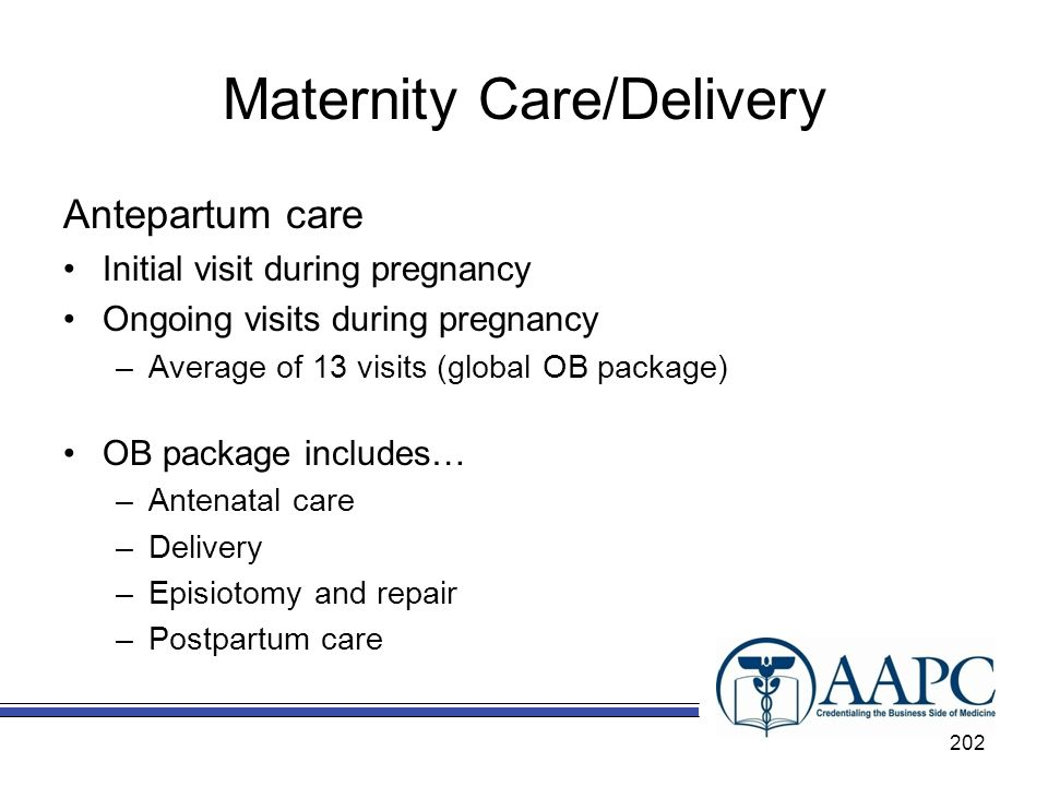 Maternity Care/Delivery
