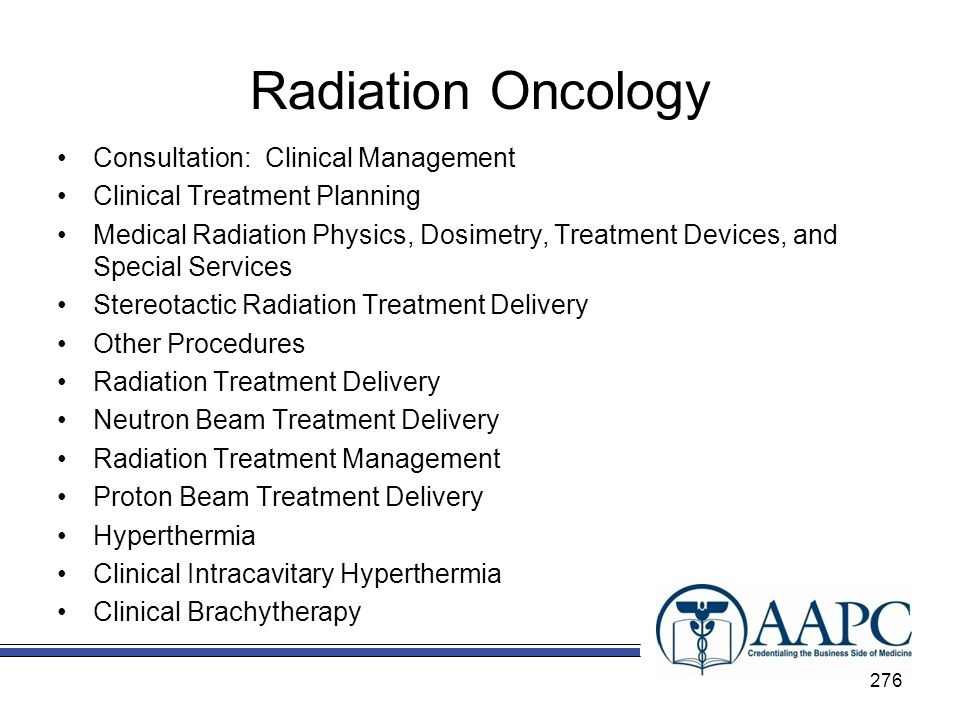 Radiation Oncology Consultation: Clinical Management