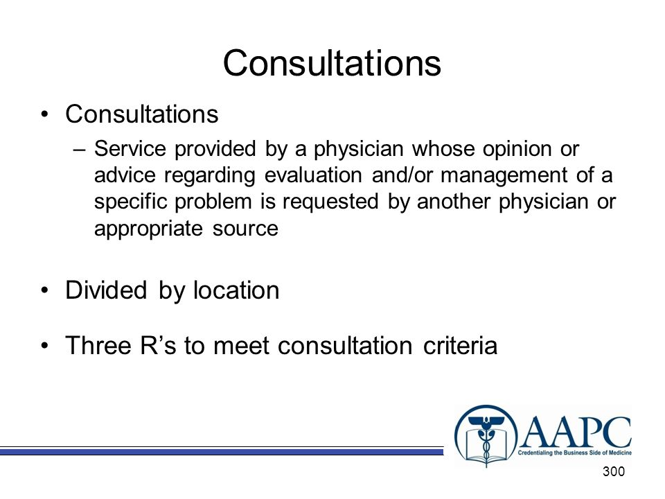 Consultations Consultations Divided by location