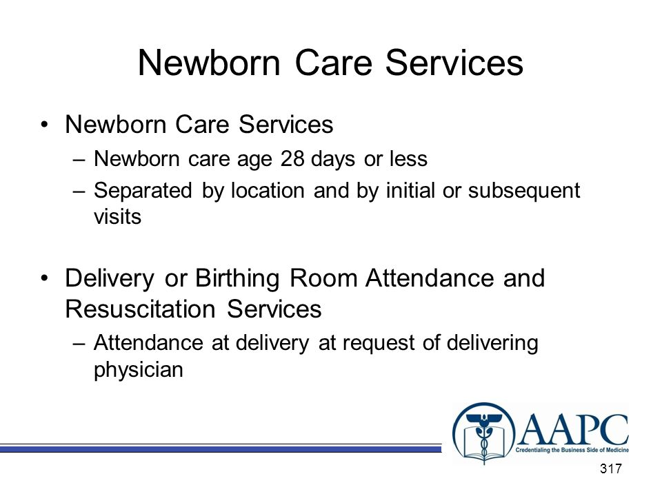 Newborn Care Services Newborn Care Services