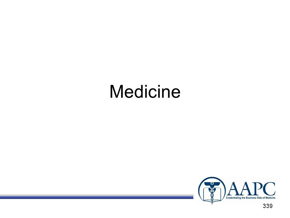Medicine Chapter 18 - Medicine