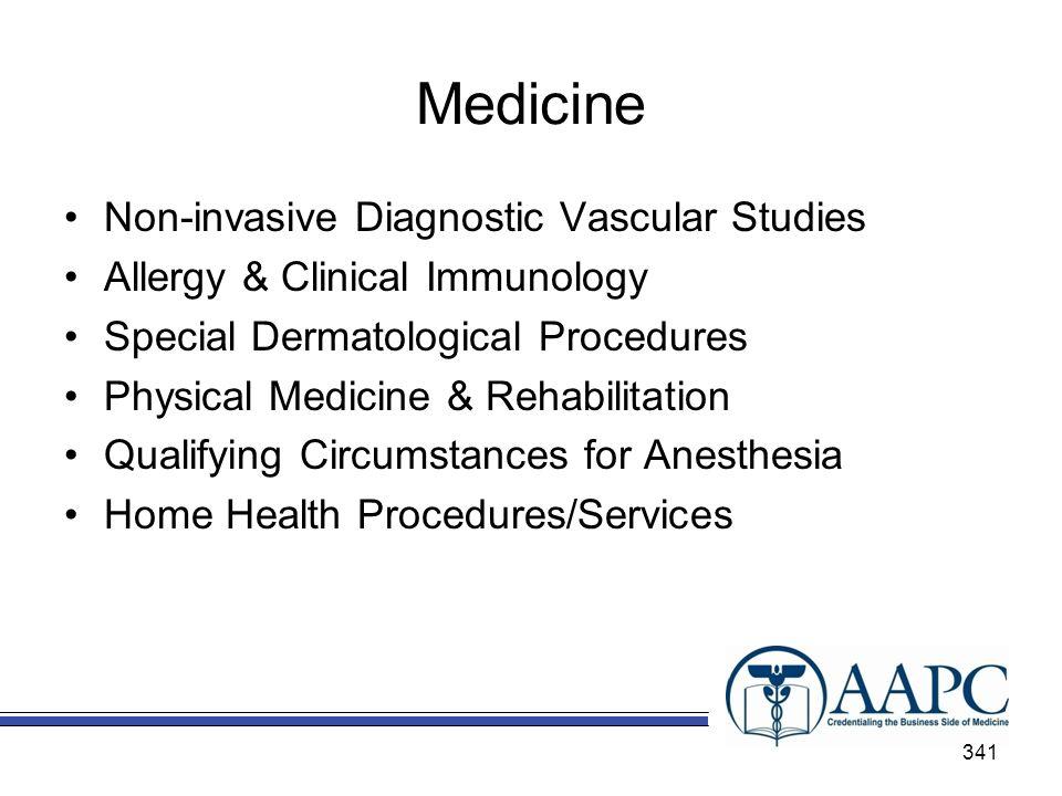 Medicine Non-invasive Diagnostic Vascular Studies