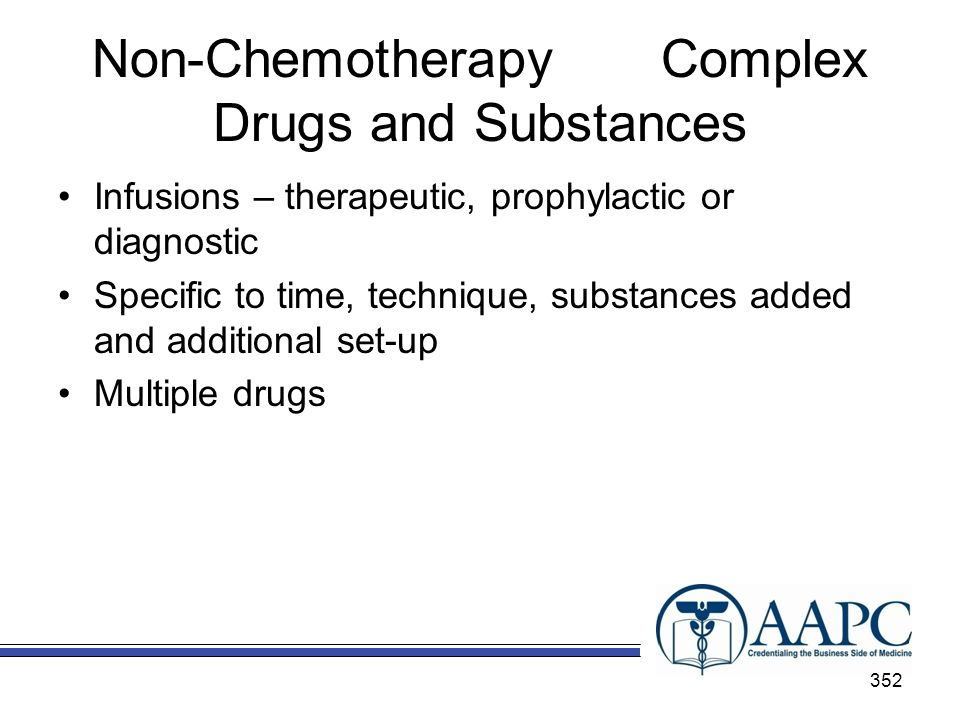 Non-Chemotherapy Complex Drugs and Substances