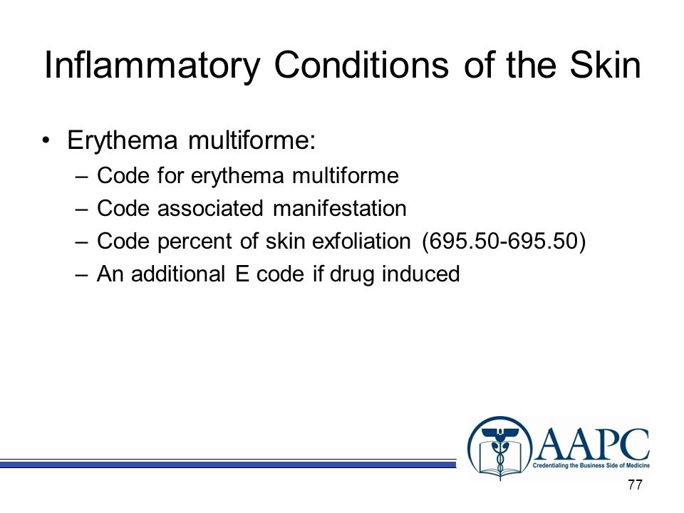Inflammatory Conditions of the Skin