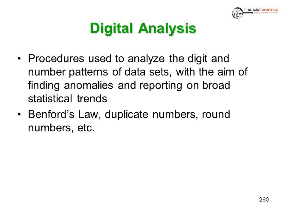 Digital Analysis