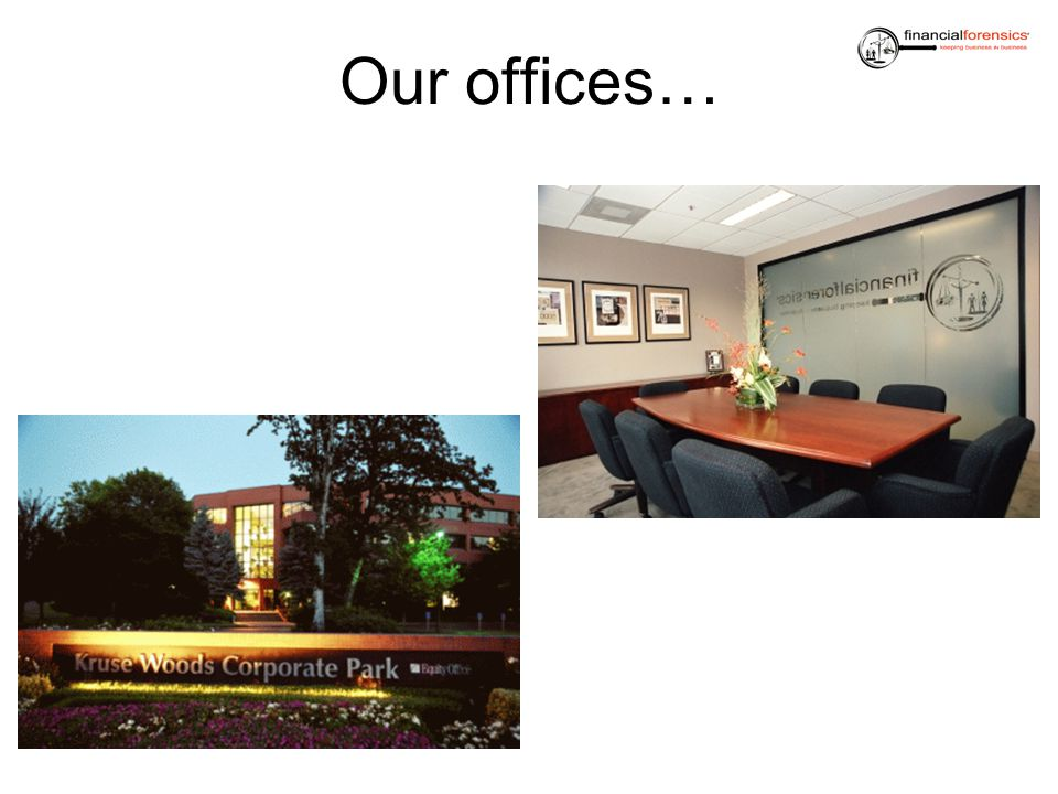 Our offices…