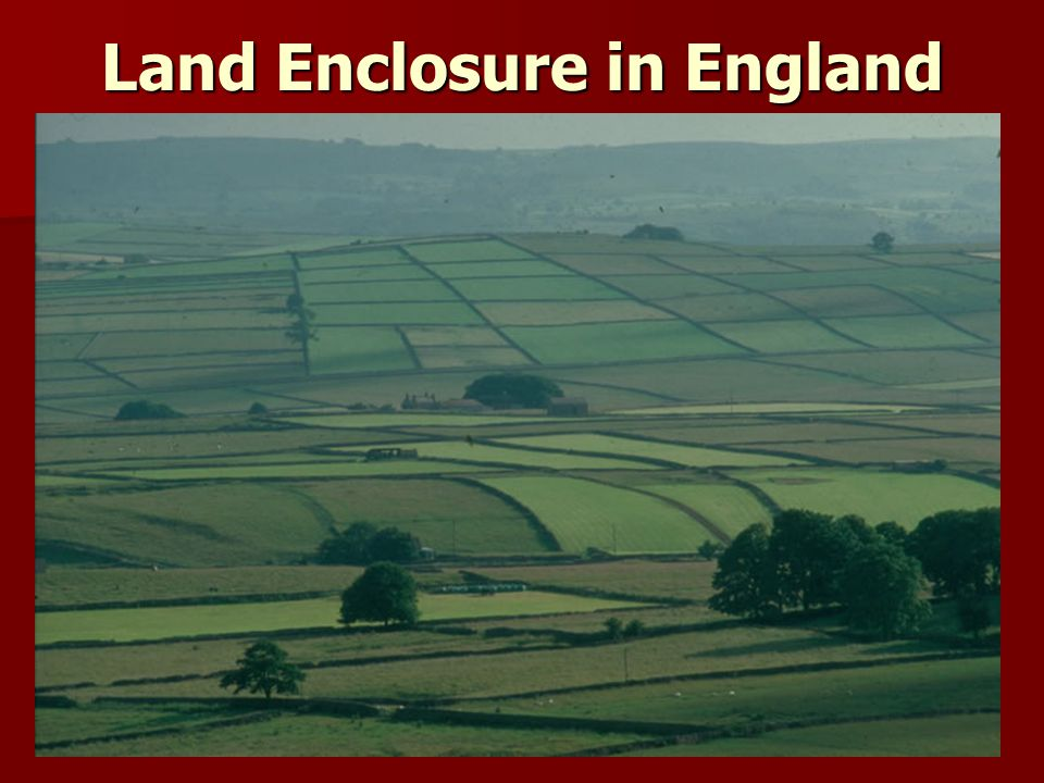 Land Enclosure in England