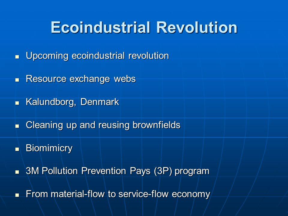 Ecoindustrial Revolution