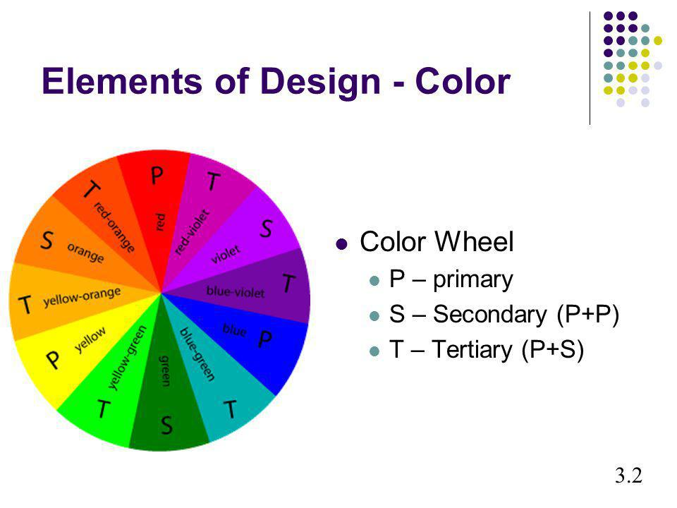 Elements of Design - Color