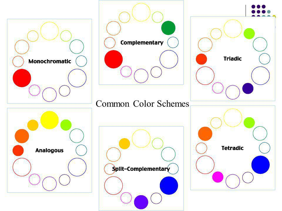 Common Color Schemes