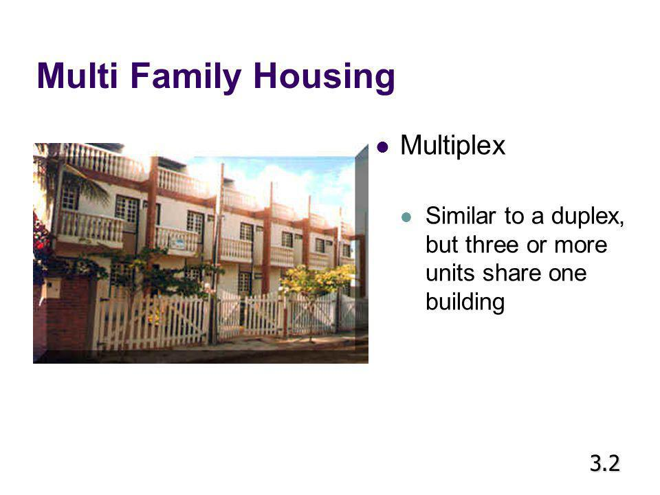 Multi Family Housing Multiplex