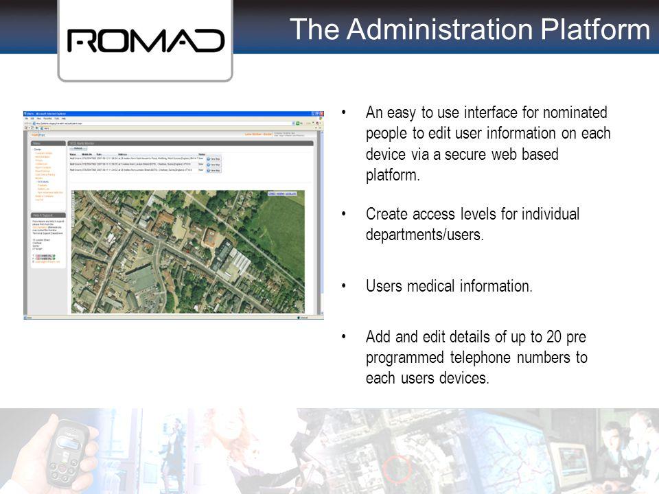 The Administration Platform
