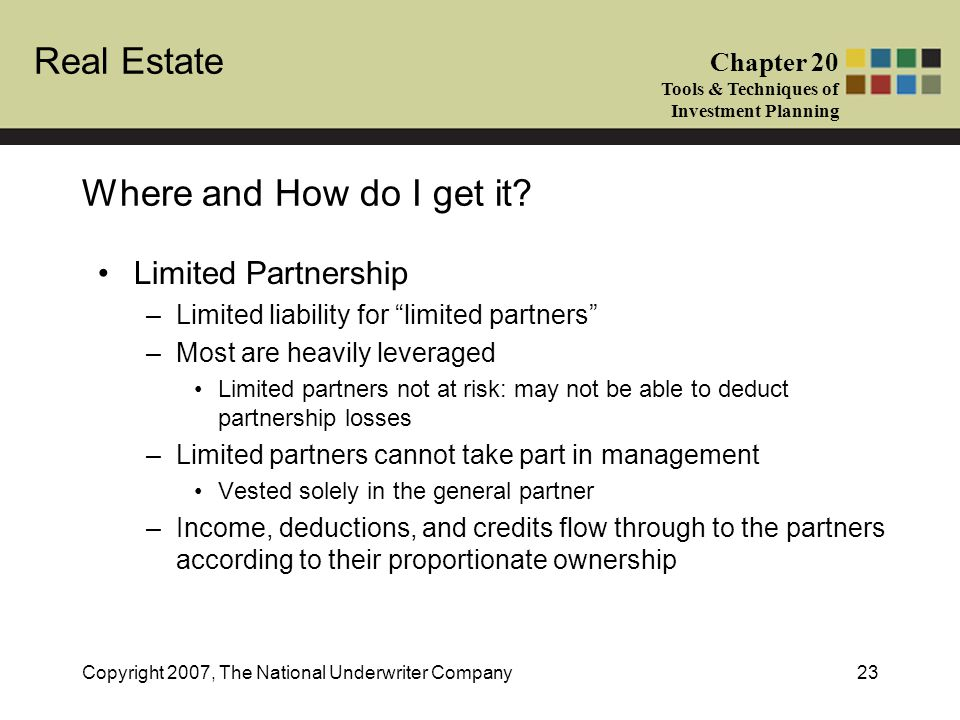 Where and How do I get it Limited Partnership