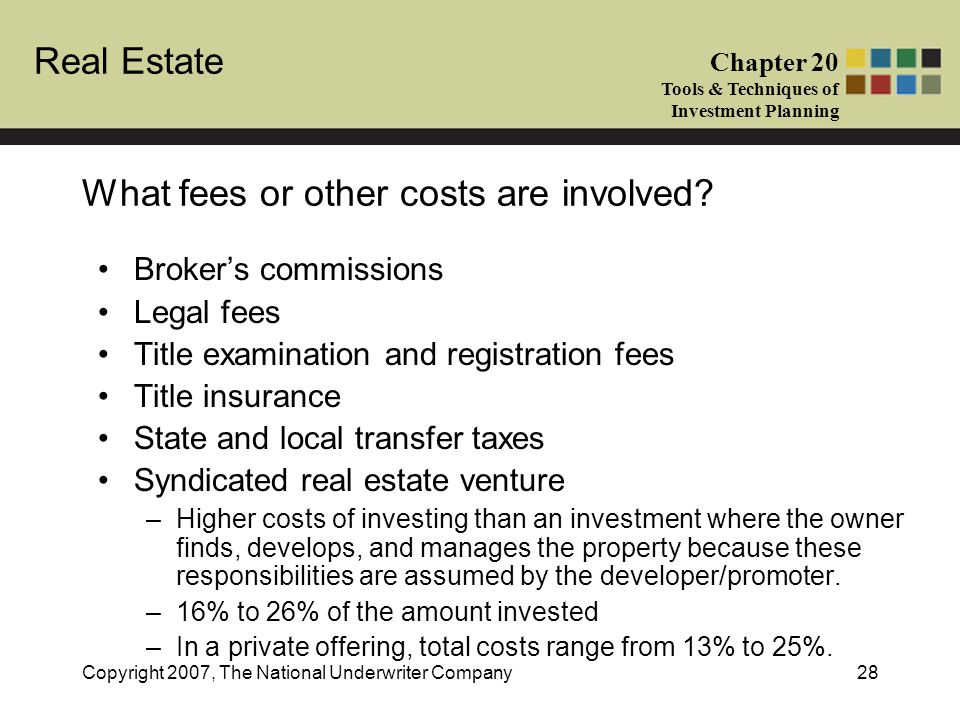 What fees or other costs are involved