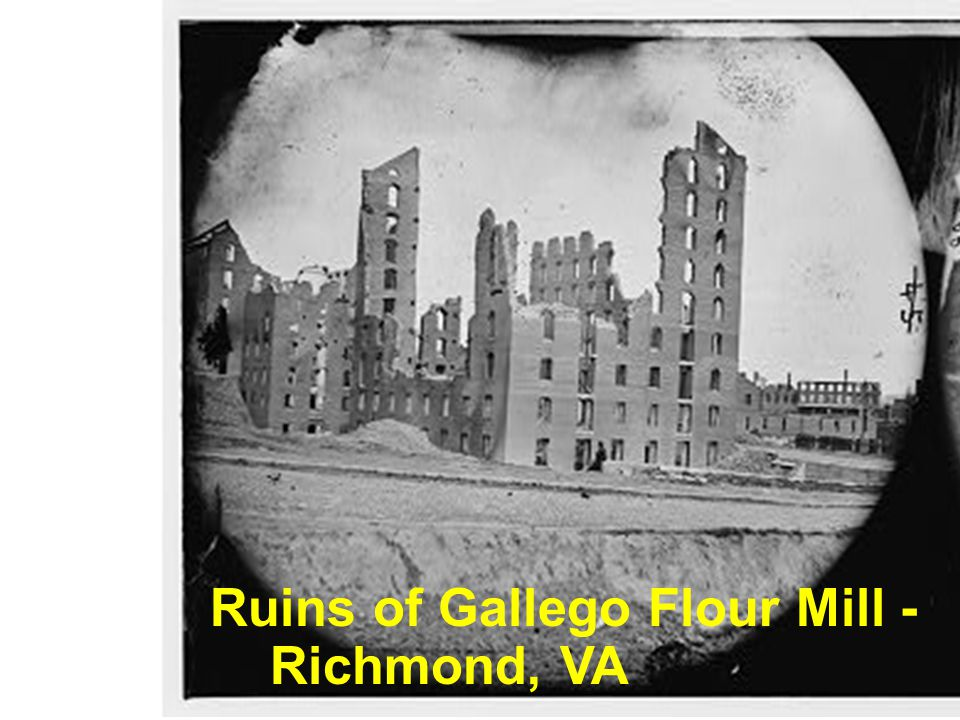 Ruins of Gallego Flour Mill - Richmond, VA