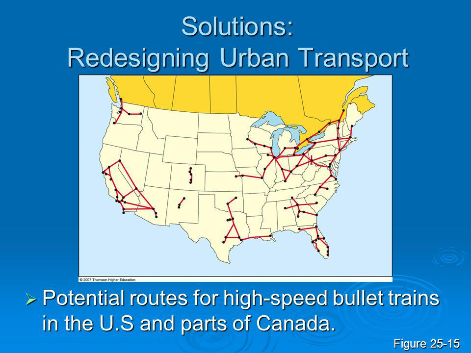 Solutions: Redesigning Urban Transport