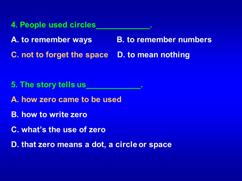 4. People used circles____________.