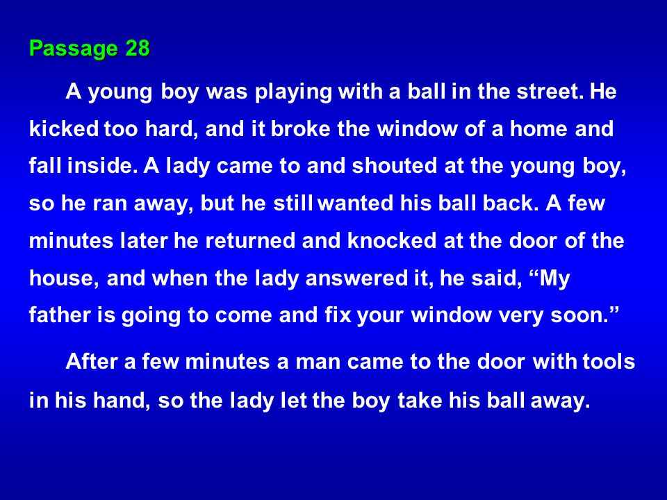 Passage 28