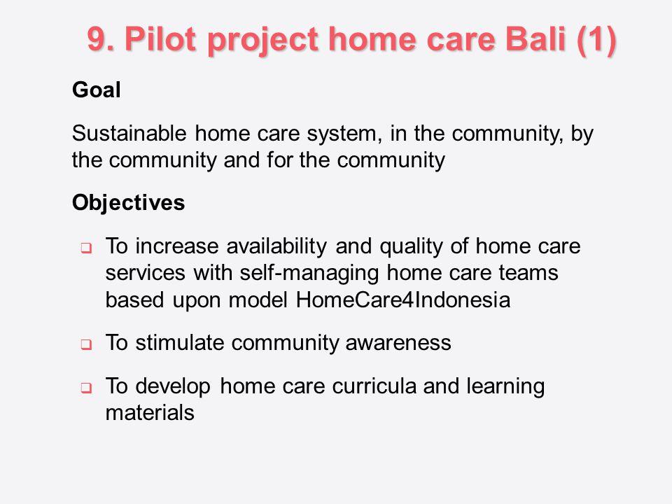 9. Pilot project home care Bali (1)