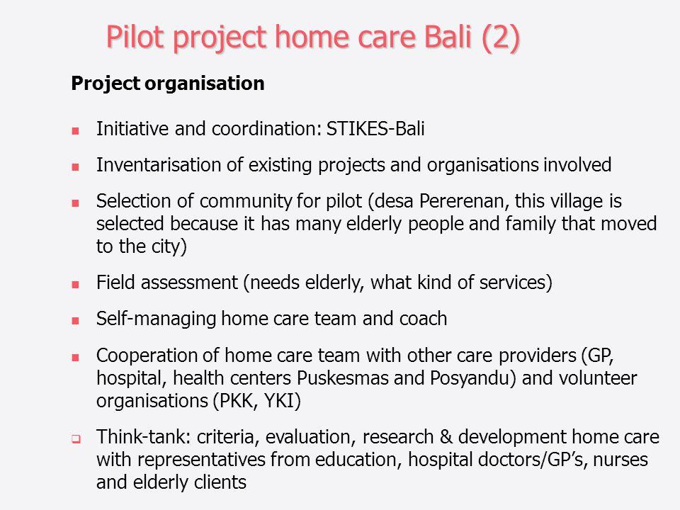 Pilot project home care Bali (2)