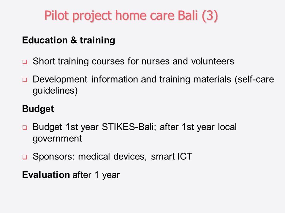 Pilot project home care Bali (3)