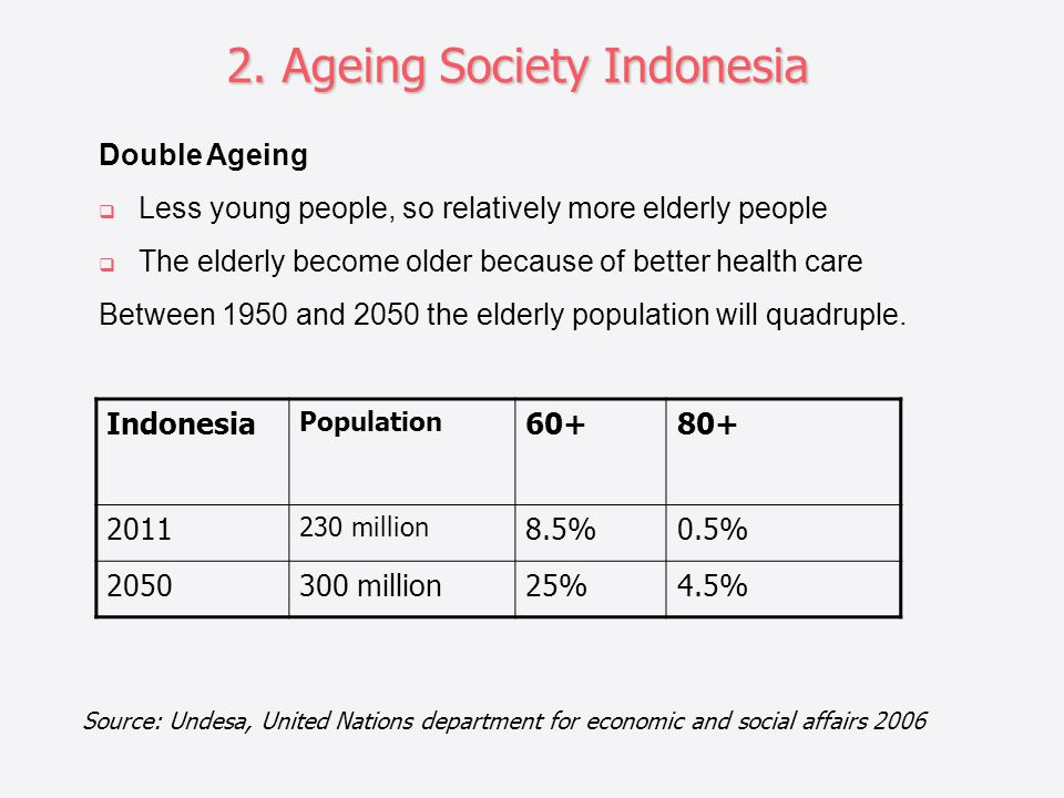 2. Ageing Society Indonesia